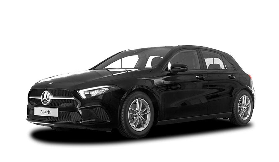 Musta (Yönmusta) Mercedes-Benz A 180 A Business Style Autoleasing-verkkokaupasta.