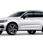 Valkoinen (Ice White) Volvo XC60 T8 TwE AWD Business Autoleasing-verkkokaupasta.