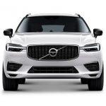 Autoleasing-valikoiman valkoinen Volvo XC60 T8 TwE AWD Business -malli edestä.