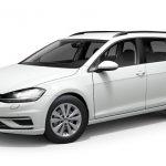 Valkoinen (Pure White) Volkswagen Golf Variant Comfortline 1,5 TSI EVO 110 kW DSG Autoleasing-verkkokaupasta.