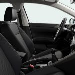 Autoleasing-valikoiman Volkswagen Polo Style 1,0 TSI 70 kW DSG -mallin sisätilat.